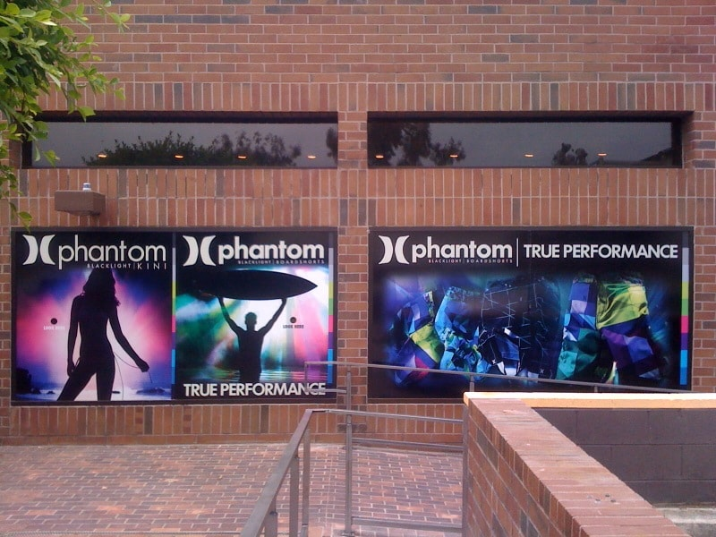 Phantom window graphics.