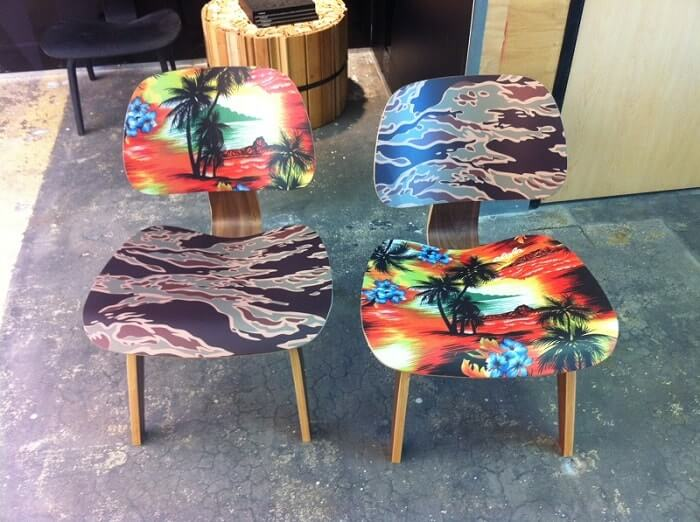 Custom Displays Chairs Venbea in Santa Ana