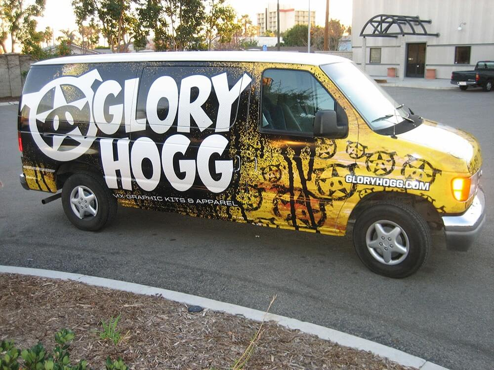 Glorry Hog Vehicle Wrap