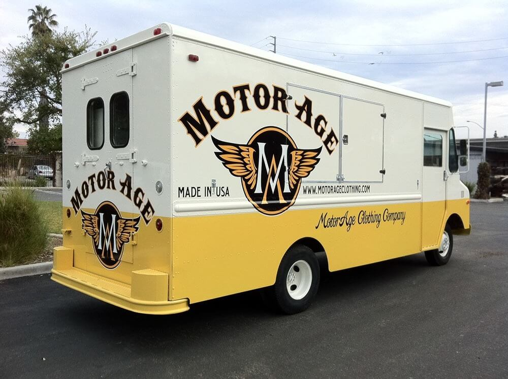 Motor age vehicle wraps