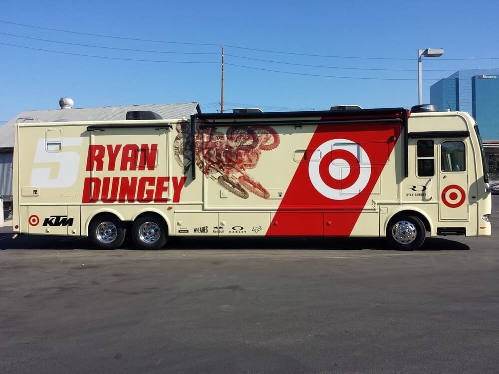 Ryan Dungey vehicle wrap