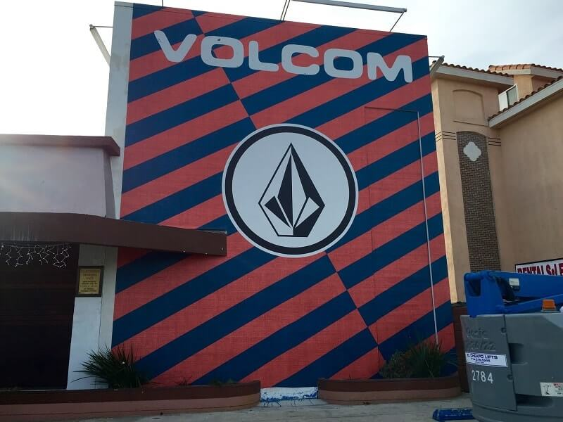Volcom Wall Graphics has been done by Venbea Imaging in Santa Ana.