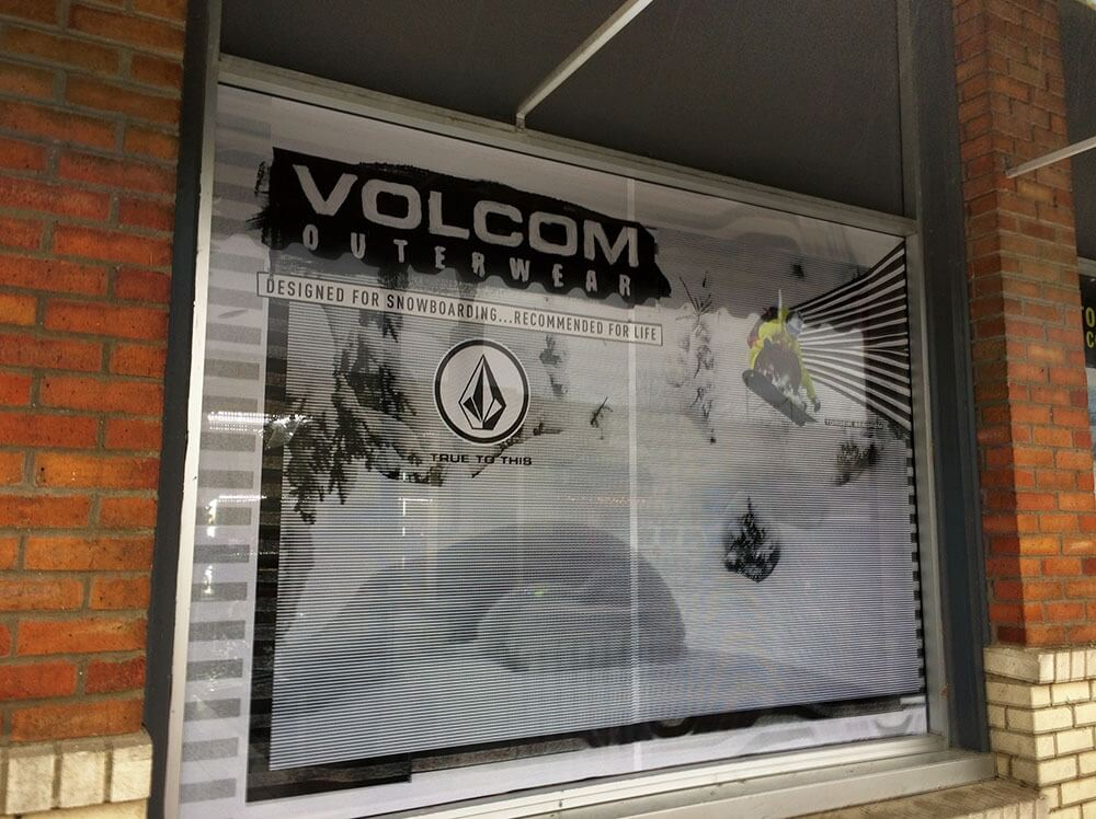Volcom Window Graphics by Venbea