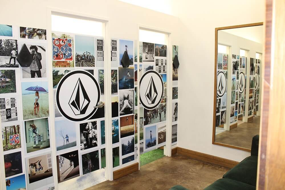 Volcom wall graphics