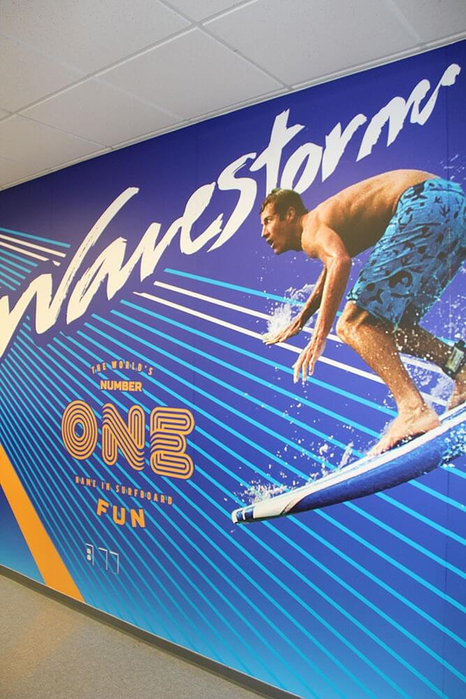 Wavestorm surf custom displays